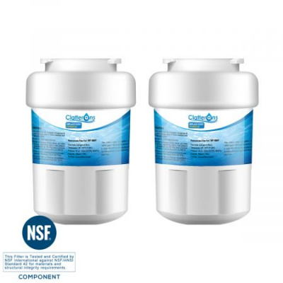 Clatterans CL-RF09 GE MWF Water Filter for GE Smartwater, Kenmore 9991 Water Filter & Hotpoint HWFA, 2-Pack