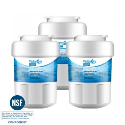 Clatterans CL-RF09 GE MWF Water Filter for GE Smartwater, Kenmore 9991 Water Filter & Hotpoint HWFA, 3-Pack