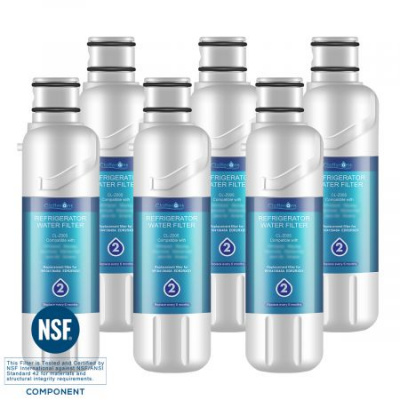 Clatterans CL-Z005 Replacement for W10413645A Water Filter 2 & EDR2RXD1, 6-Pack
