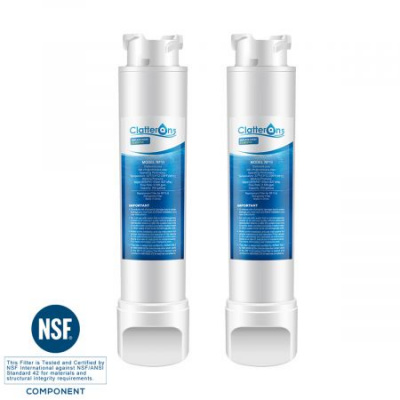 Frigidaire Refrigerator Water Filter EPTWFU01 PURESOURCE ULTRA II Water Filter, 2-Pack