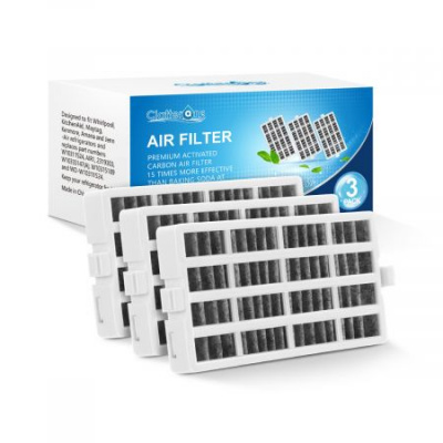 Whirlpool W10311524 Fresh Flow Refrigerator Air Filter AIR 1, 3-Pack