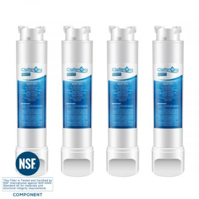 Frigidaire Refrigerator Water Filter EPTWFU01 PURESOURCE ULTRA II Water Filter, 4-Pack