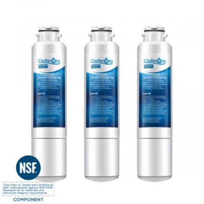 Clatterans CL-RF03 Replacement for Samsung Refrigerator Water Filter DA29-00020B HAF-CIN/EXP 46-9101 Water Filter, 3-Pack