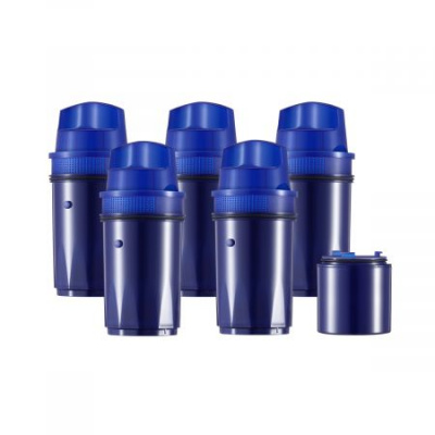 Clatterans 5+1 Pitcher Water Filter Replacement for Pur CRF950Z, DS-1800Z, PPT700W, PPF951K, CR-1100C, CR-6000C, PPT711W, PPT711, PPT710W, PPT111W and More Pur Pitchers Blue(6 Pack)