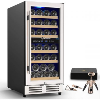 Clatterans 30 Bottle Wine Cooler Refrigerator